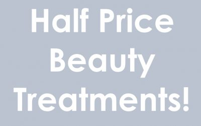Half Price Beauty Treatments with Ellie in January